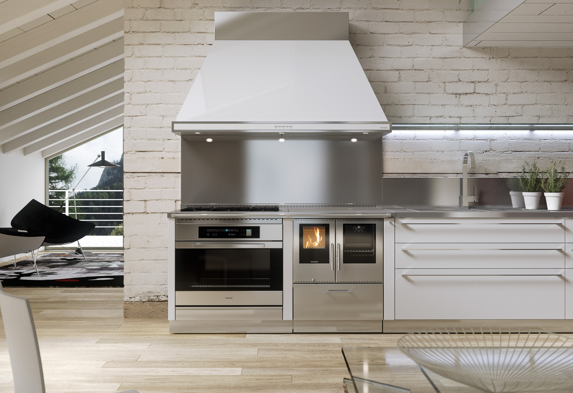 Kochen Holzküche